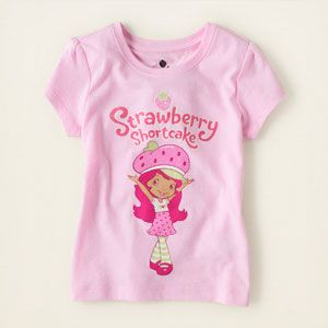 Strawberry Shortcake Graphic Tee From The Childrens Place
