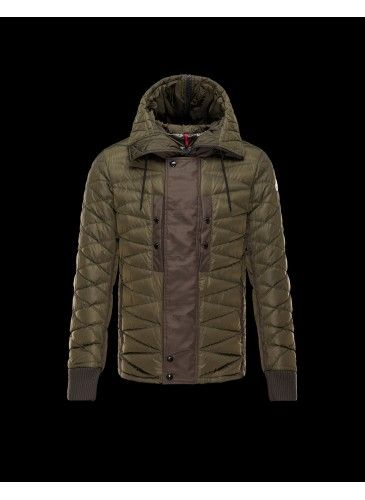 0a85d7971 Moncler Ernest Jacket Men Military Green - Moncler | Winter Jackets ...