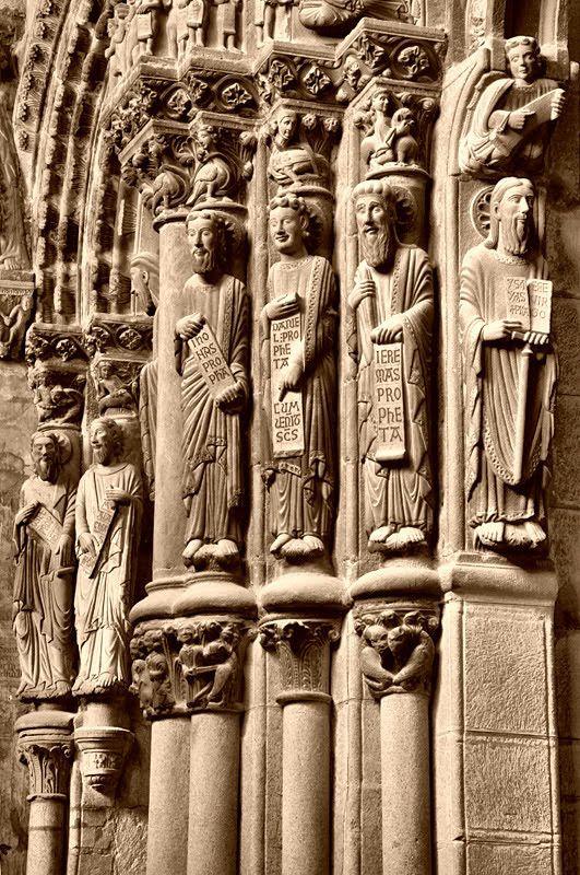 Detalle Catedral de  Ourense Spain