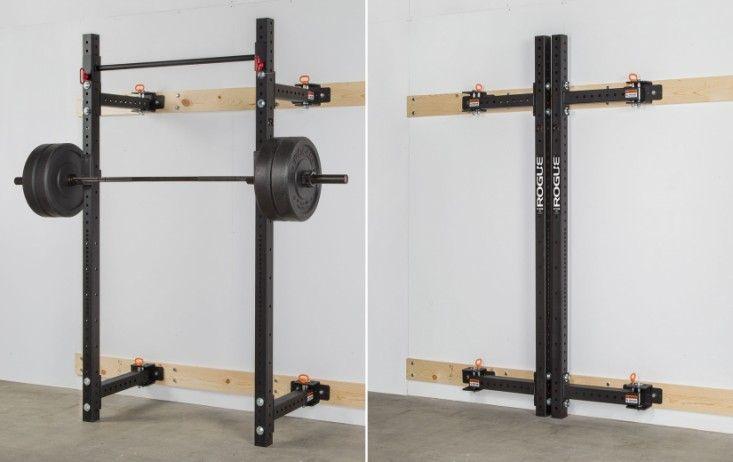 Rogue Rml 3w Fold Back Wall Mount Rack Diy Home Gym Gym Room At Home Gym