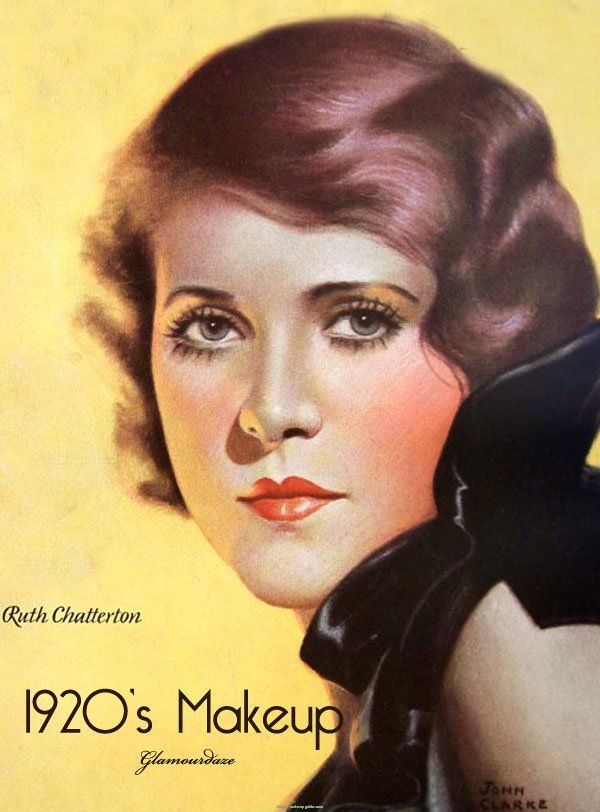 Early 20th Century Makeup Styles For Women From 1920 Art Deco - 1920s-makeup-ads