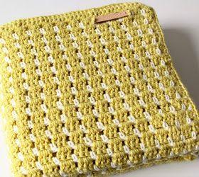 Gehaakt Babydekentje Met Vintage Look Gratis Patroon Crochet