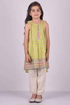 a2db0014015ad9 Khaadi Baby Girls Dresses For Summer 2017