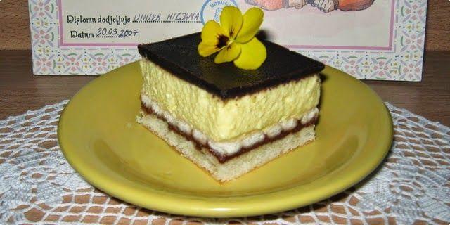 Mala kuhinja - Veliki Užitak: Eurokrem kolač