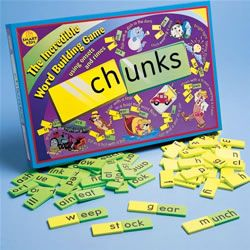 Chunks - A Word Building Game - Plays like Concentration and ...