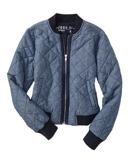 Gap quilted coat