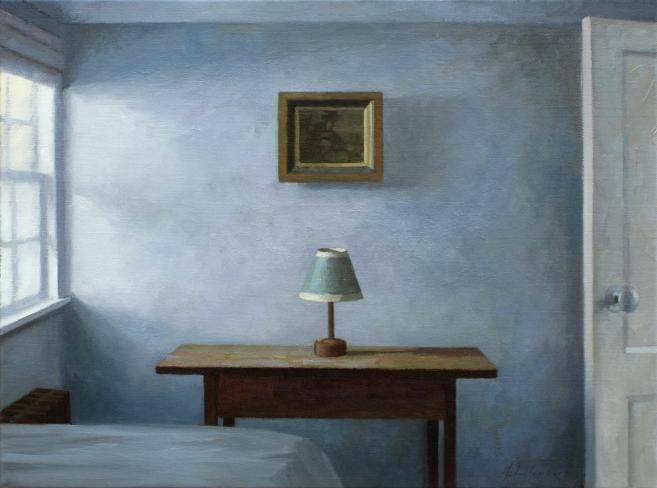 In The Extra Bedroom Interior Paintings Interior Art Interior