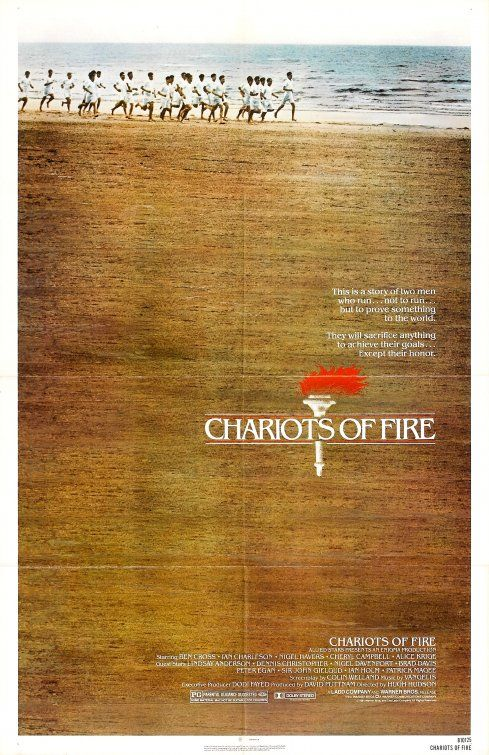 Chariots Of Fire Movie Poster Chariots Of Fire Fire Movie Movie Posters