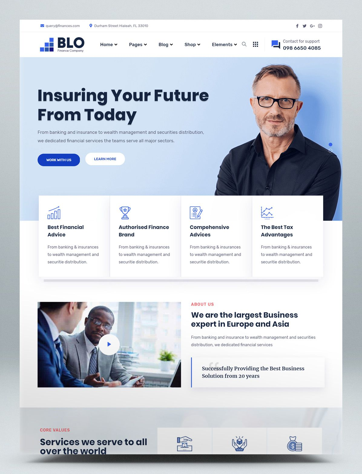 Corporate Business Wordpress Theme In 2020 Business Wordpress Themes Corporate Wordpress Themes Corporate Web Design