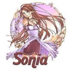 Resultado de imagem para gifs com nome sonia