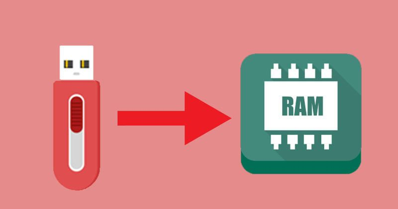 How to use your pen drive as ram to boost your computers