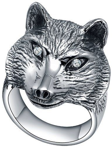Ai Stainless Steel Jewelry – Anillo hecho con acero inoxidable y zirconia cúbica