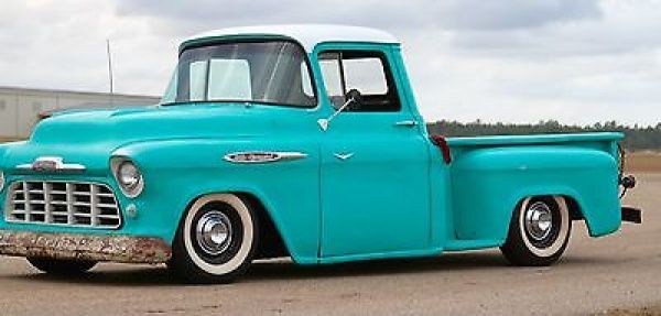 1957 Chevrolet Other Pickups Patina 1957 Chevy 3100 Slammed Bagged