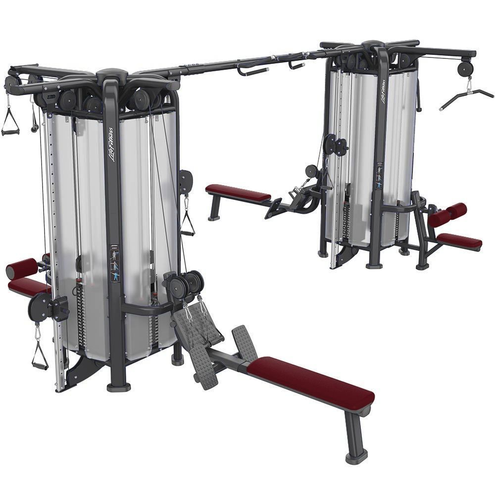 Life Fitness Signature Series Multi Jungle Mj8 Primo Fitness Fit Life Commercial Fitness Equipment Strength Training Equipment