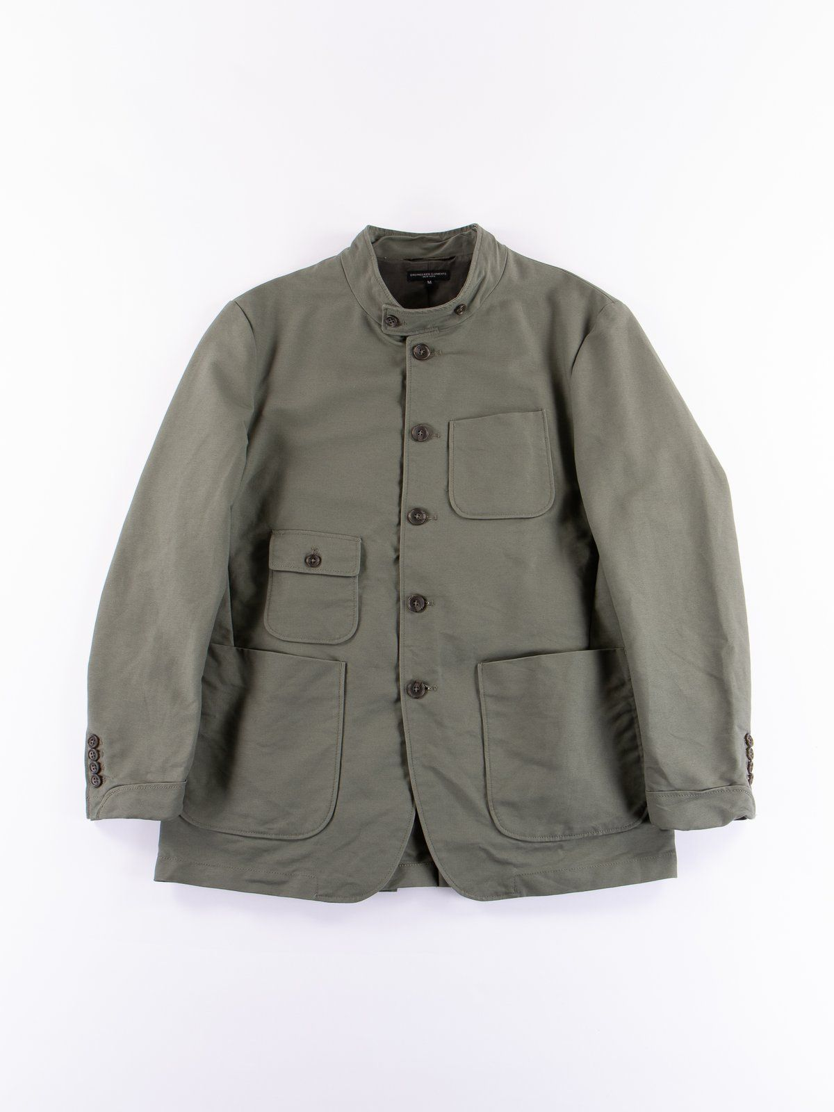 organic clothing wholesale suppliers engineered garments grim jacket