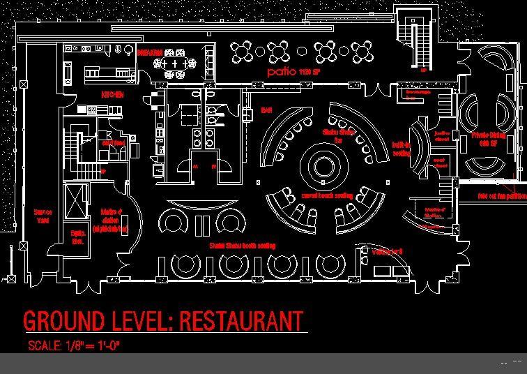 Restaurant Kitchen Layout Autocad restaurant floor plan design | pub | pinterest | restaurant design