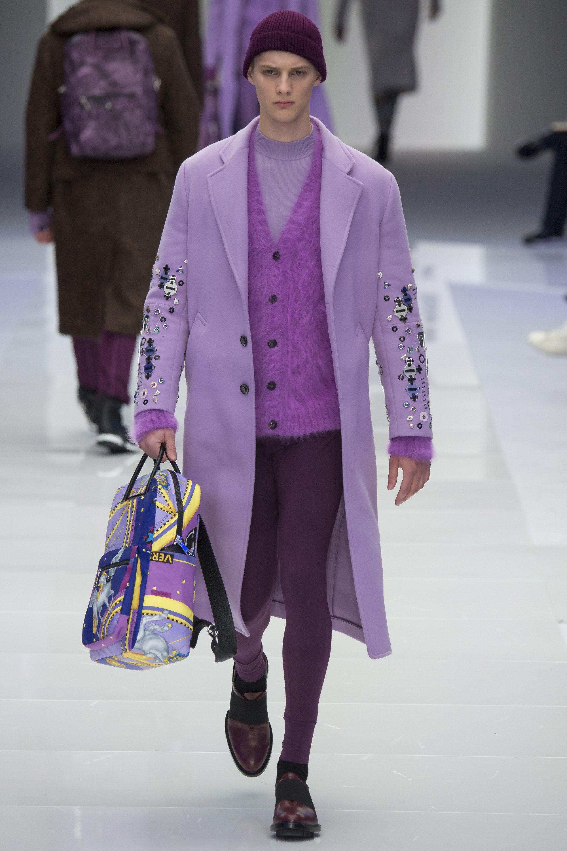 Versace Fall 2016 Menswear Collection Photos - Vogue