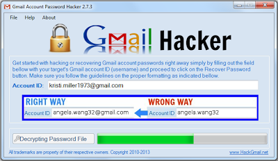 Gmail Account Password Hacker V 2 7 3 unlock code,activation key
