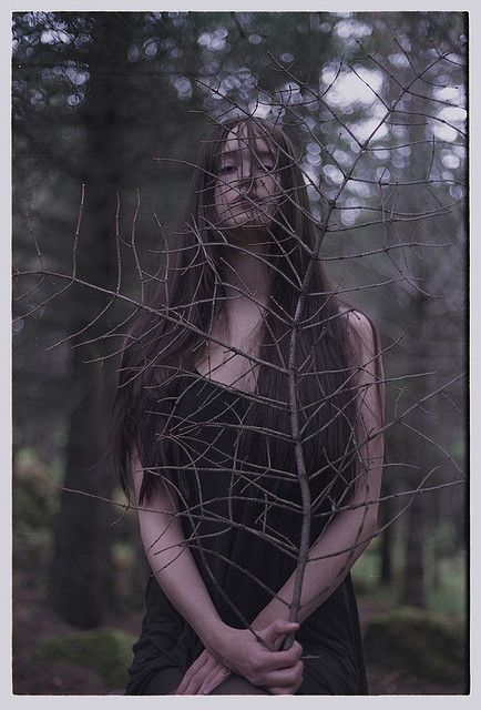 """(C) Wood Witch by Marsý, via Flickr. """"We often forget that WE ARE NATURE. Nature is not something separate from us. So when we say that we have lost our connection to nature, we've lost our connection to ourselves."""" ~Andy Goldsworthy"""