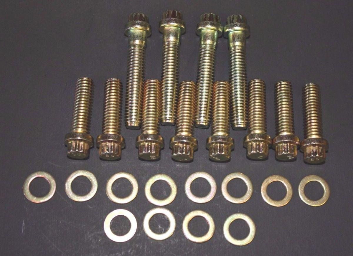 Oldsmobile Edelbrock 2730 Torker Intake Bolt Kit 400 425 455 W 30 Torker Bolt Kit
