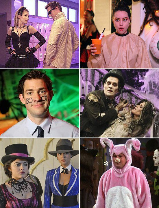 best character costumes the most iconic tv characters in their halloween costumes