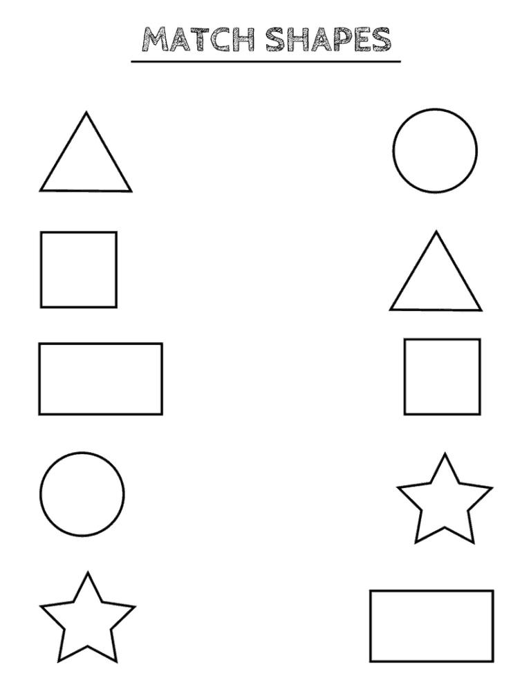 Free Printable Shapes Worksheets For Toddlers And Preschoolers Shape Worksheets For Preschool Tracing Worksheets Preschool Shape Activities Preschool