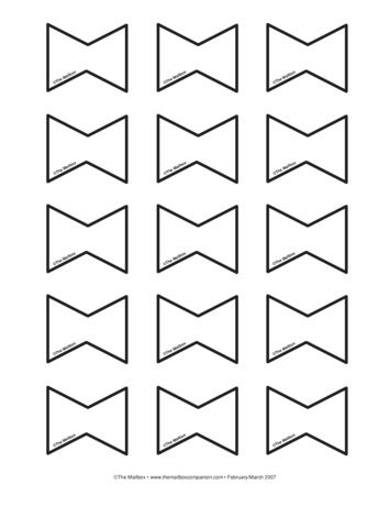 Bows Lesson Plans The Mailbox Kite Template