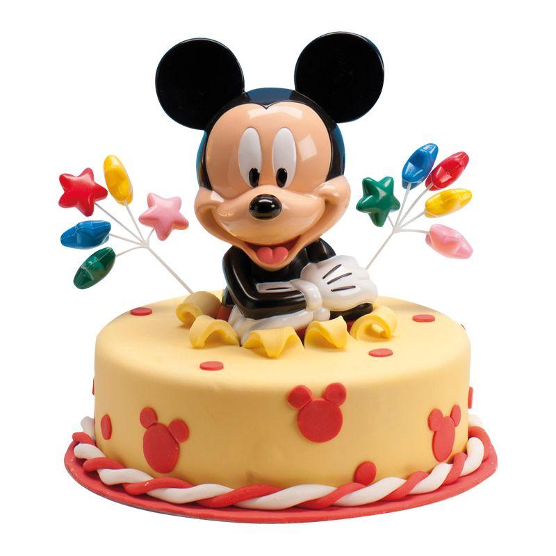 Leman cake decorations mickey mouse piggy bank gateau