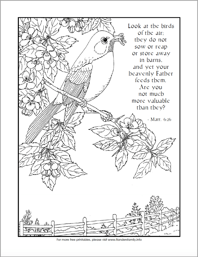Look At The Birds Free Printable Coloring Page From Www Flandersfamily Info Bird Coloring Pages Coloring Pages Free Printable Coloring