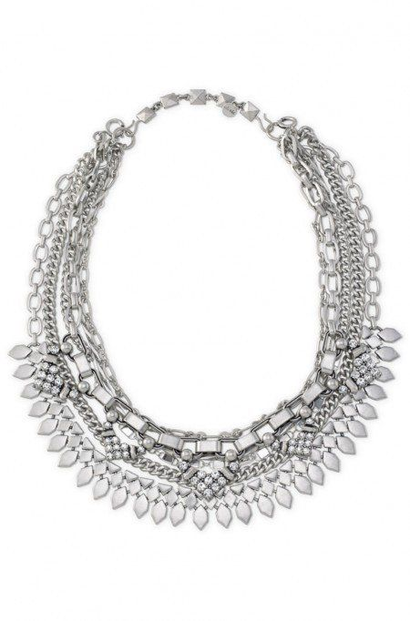 Capsule Wardrobe for Women over 40 Chunky silver necklace - victim statement
