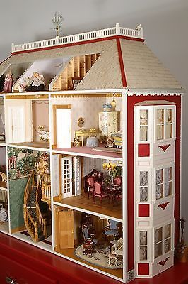 OOAK Handmade Christmas Miniature Toy Store Dollhouse Puppenstuben & -häuser Doll House