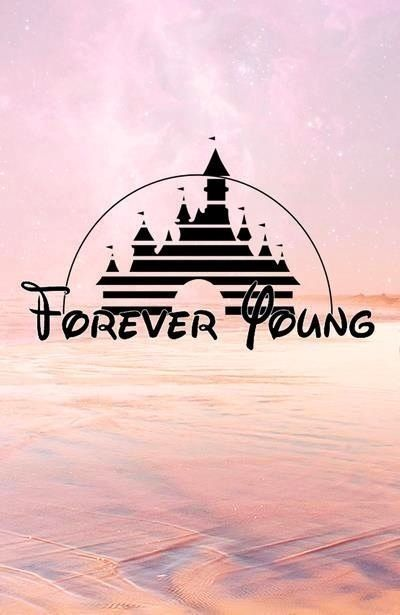 Disney Logo Forever Young Good Vibes Disney