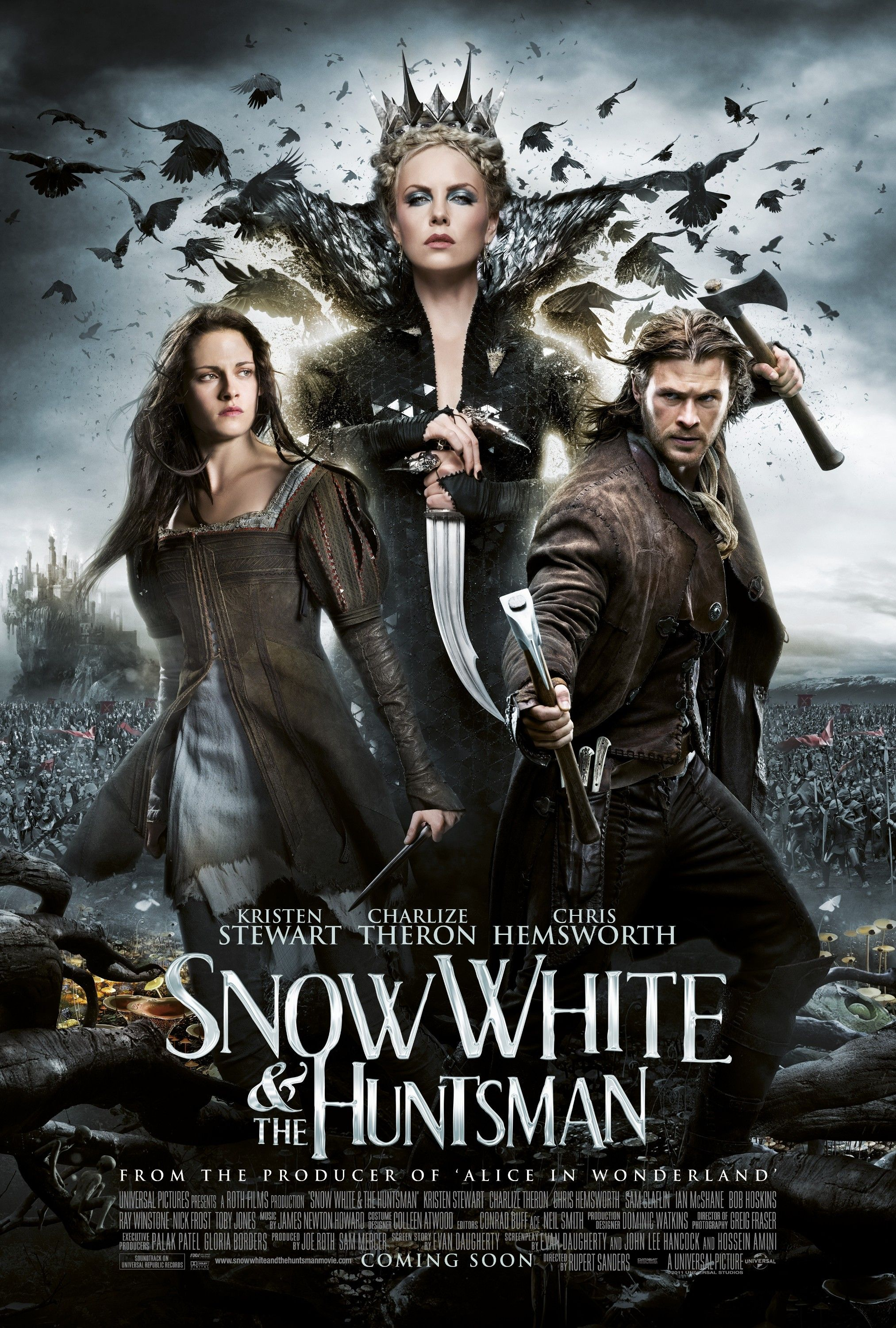 Snow White and the Huntsman | MOVIE MADNESS | Pinterest ...