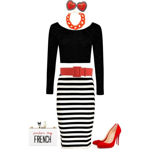 Ooh LaLa by jeanne-lemaire-romero on Polyvore featuring polyvore fashion style Boohoo Christian Louboutin Cecilia Ma Chanel DIANA BROUSSARD FAUSTO PUGLISI