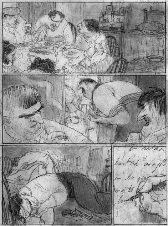 Dear Patagonia  Jorge Gonzalez  Comic Storyboard And Illustrations