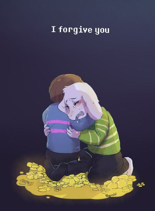 This part made me cry but it was amazing. Poor Asriel :(