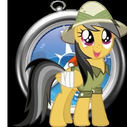 Daring Do Safari Web Browser Windows Icon Safari Web Browser My Little Pony Friendship Mlp My Little Pony