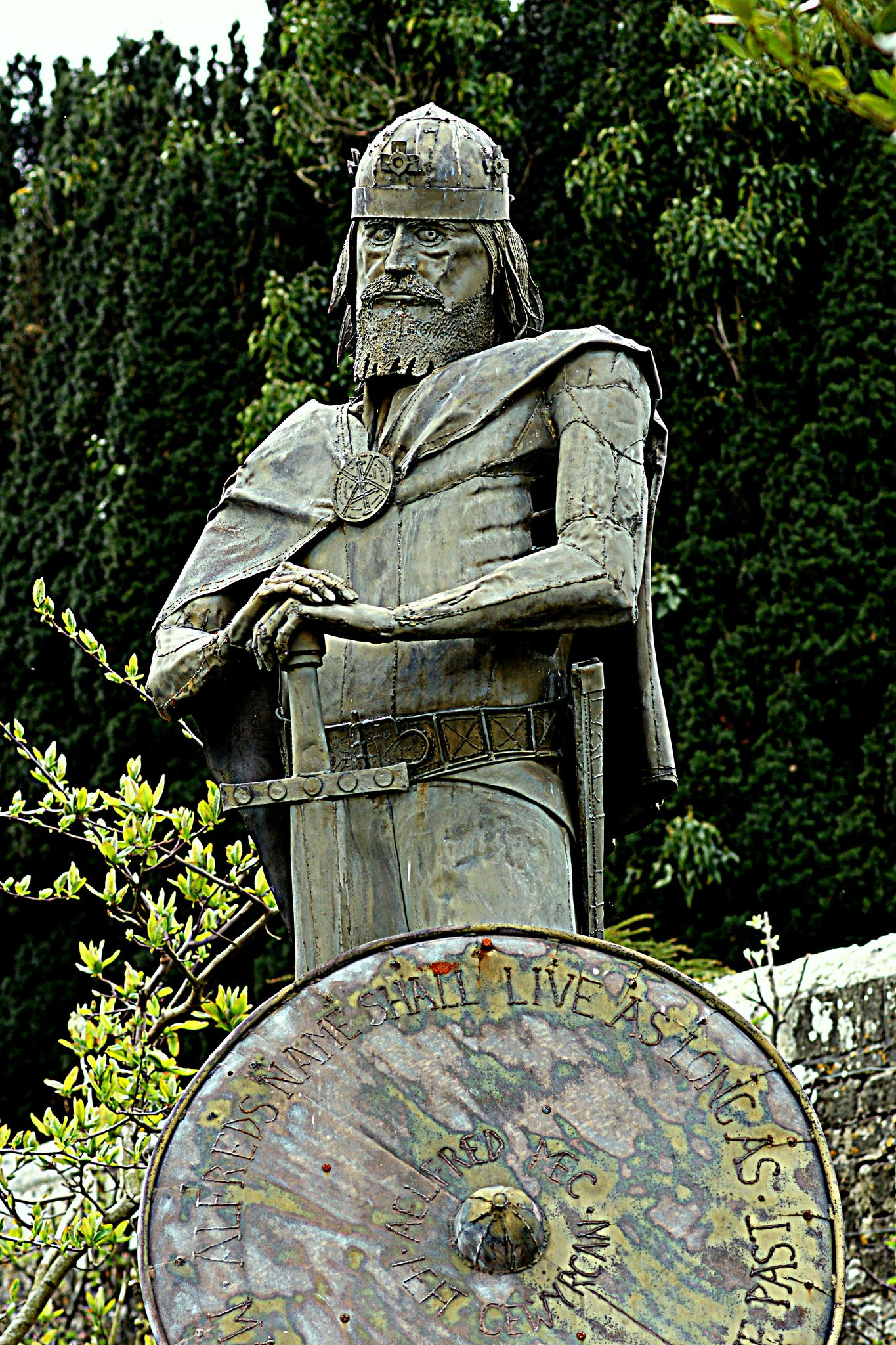 Alfred The Great King Of Wes