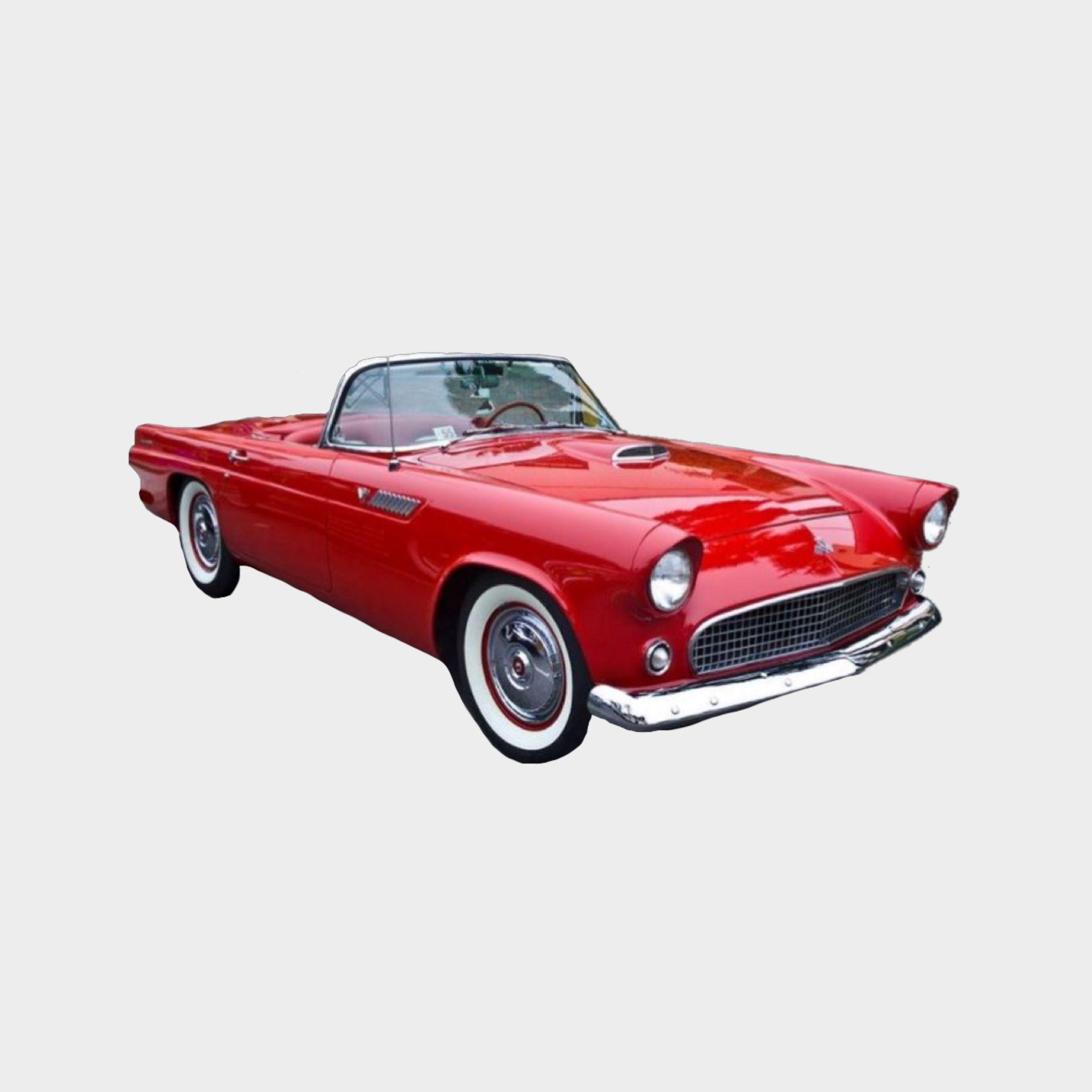 Vintage Red Car Png For Mood Boards Polyvore Fillers Png
