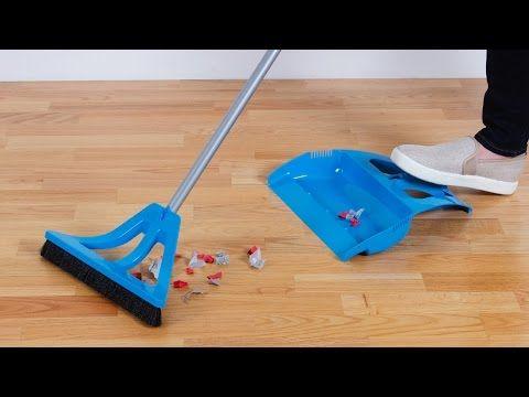 Wisp One Handed Broom And Dustpan Set Push Broom Broom And Dustpan Grommets