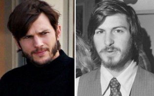 Ashton Kutcher As Steve Jobs Uncanny Resemblance Pics Steve Jobs Photo Ashton Kutcher Steve Jobs