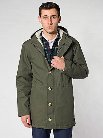36d06c9d60 American Apparel - Fishtail Parka. Really dig it for winter