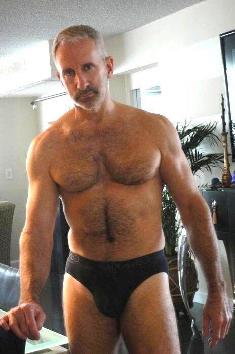 Hairy daddy hunk