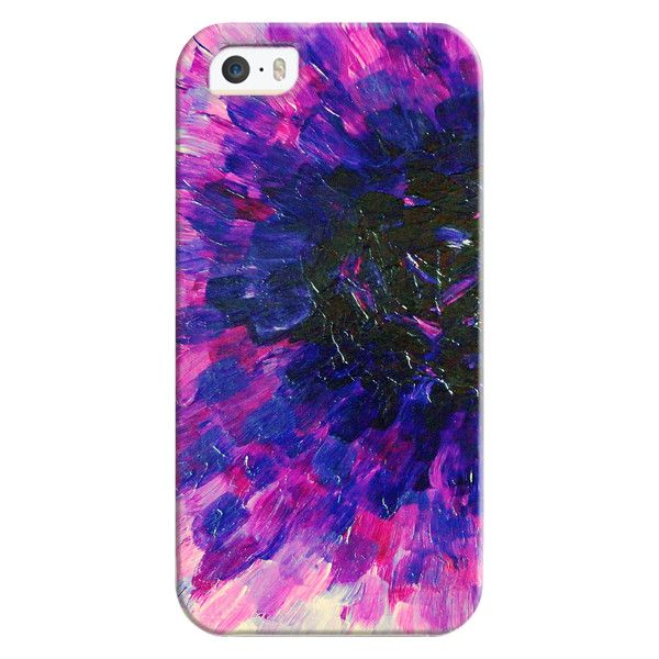 LIMITLESS VACANCY - Deep Violet Purple Lavnder Lilac Plum Aubergine... (525 ARS) ❤ liked on Polyvore featuring accessories, tech accessories, iphone case, flower iphone case, floral iphone case, iphone cover case, purple iphone case and iphone cases