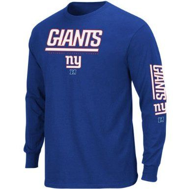 official photos 1629a 86d47 Amazon.com: New York Giants Primary Receiver Long Sleeve T ...