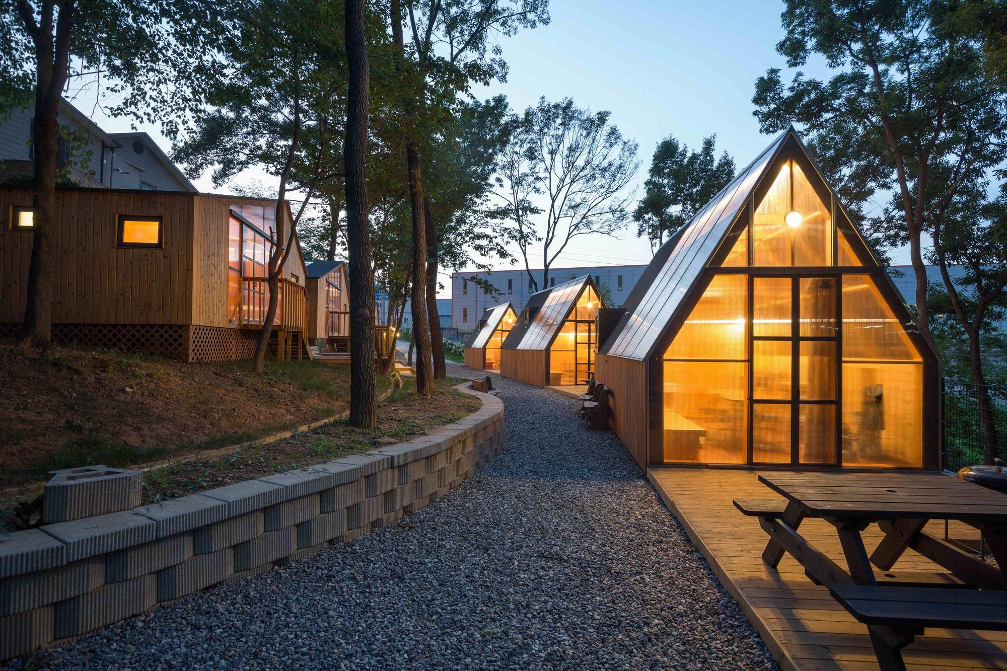 Haru Cafe B U S Architecture Architecture Architecture Details Village Houses