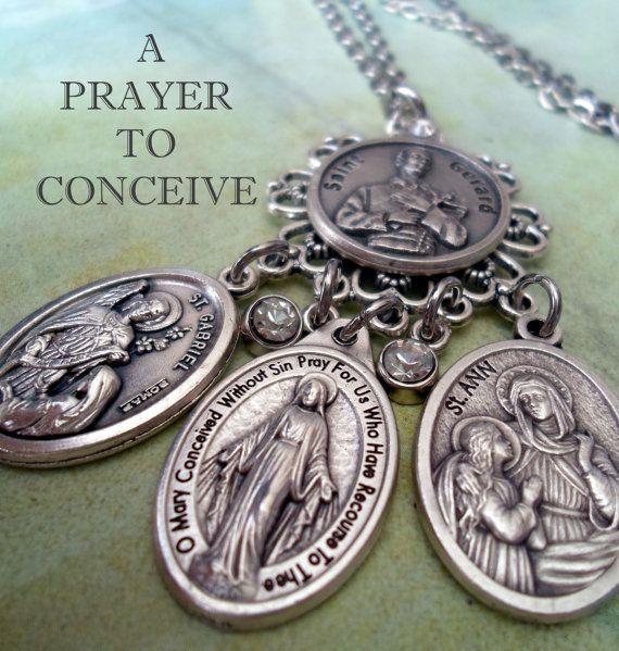 St gerard fertility prayer necklace stn by marysprayers st gerard fertility prayer necklace stn by marysprayers aloadofball Image collections