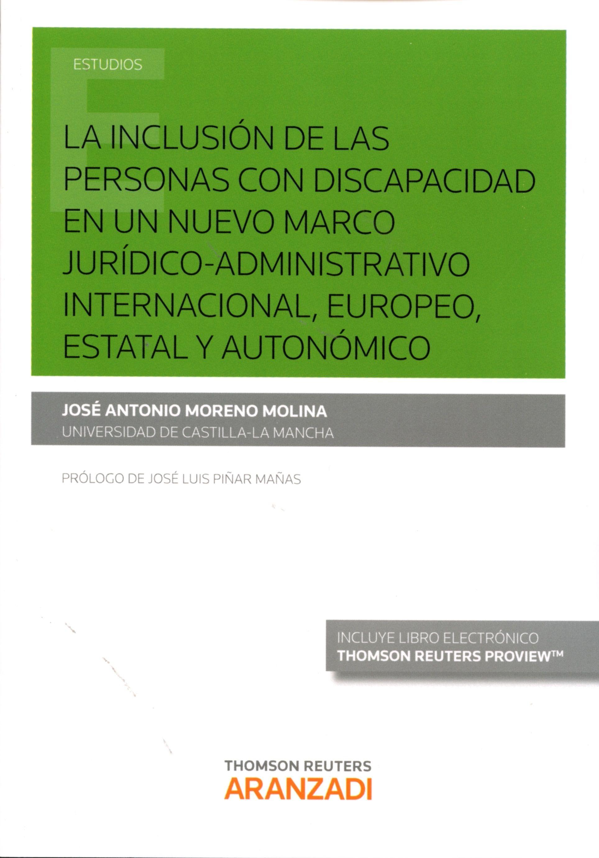 La Inclusión De Las Personas Con Discapacidad En Un Nuevo Marco Jurídico Administrativo Internacional Europeo Estatal Y A Ciências Sociais Jurídicos Ciencias