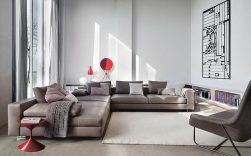 Zanotta Mobili ~ Contemporary modular sofa scott by ludovica & roberto palomba