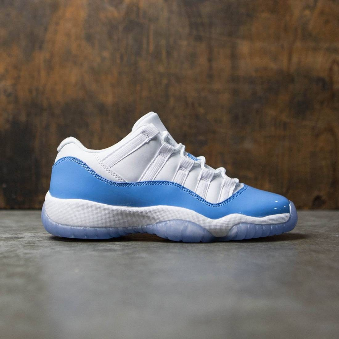 a5725f128f58b Air Jordan 11 Retro Low (GS) Big Kids (white / university blue ...